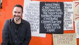 Caligrafía con góticas potentes. Un curso de Oriol Miró Genovart