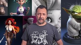 Modelado de personajes en 3D . Un curso de 3D y Animación de Luis Gomez-Guzman