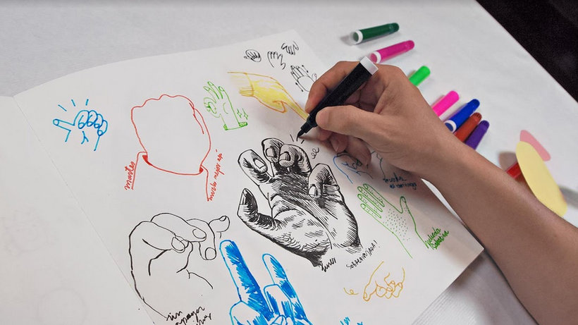 Dibujo para principiantes nivel -1 (Puño). Curso Online | Domestika