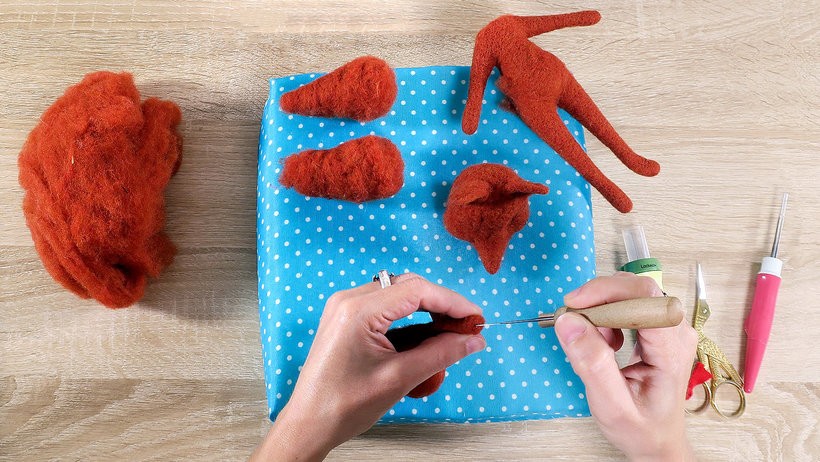Needle Felting: Creation of Characters with Needle and Thread