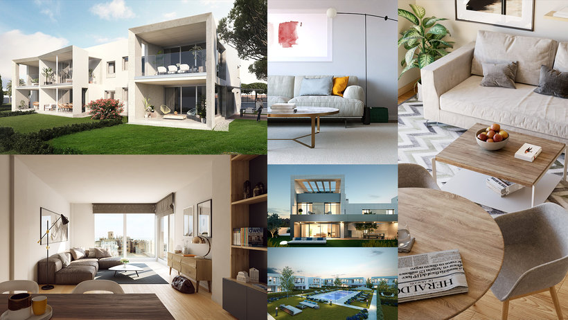 Architectural Infograph in 3D