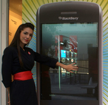 Lanzamiento Blackberry Storm. A Advertising, Motion Graphics, Film, Video, TV, and UI / UX project by waskman studio - 23-06-2009