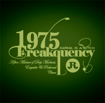 1975 · Freakquency. A Illustration project by Rodolfo Biglie - 25-06-2009