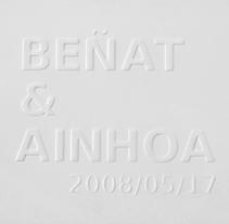 Beñat & Ainhoa. Un proyecto de Diseño gráfico de La caja de tipos  - Viernes, 15 de agosto de 2008 00:00:00 +0200