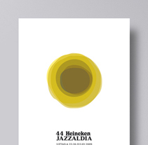 44 Heineken Jazzaldia. A Illustration, and Graphic Design project by La caja de tipos  - May 28 2009 12:00 AM