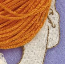 Ilustración con tejidos. Un proyecto de Ilustración y Publicidad de Ana Villalba - Viernes, 17 de julio de 2009 16:42:50 +0200