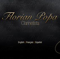 Florian Popa web. A Design project by Eloy Ortega Gatón - 20-07-2009