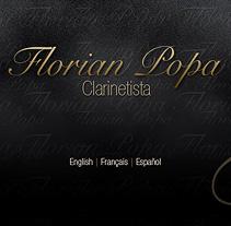 Florian Popa web. A Design project by Eloy Ortega Gatón - Jul 20 2009 04:06 PM