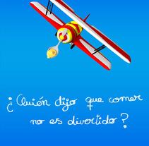 ¿Quién dijo que comer.... Un proyecto de Ilustración y 3D de Eduardo Fuente Martínez - Martes, 21 de julio de 2009 14:55:11 +0200