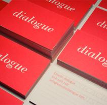 dialogue - diseño y comunicación. A Design project by Borja Eguía Navarro - 21-07-2009