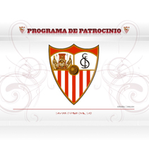 WEB PROGRAMA DE PATROCINIO SEVILLA FC. A Design, and Software Development project by Emilio Tallafet - Jul 22 2009 11:03 AM