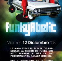 Funkyabelic @ La Mala. A Design project by Alberto Rosa  - 23-07-2009