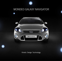 Ford Mondeo Galaxy Navigator. A Design, Advertising, and 3D project by Matias Bejas - 04-09-2009