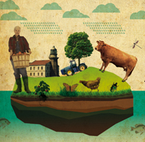 Gobierno del Principado (Gráfica Publicitaria). A Design, Illustration, and Advertising project by Lore Vigil-Escalera aka (LOV-E) - 06-10-2009