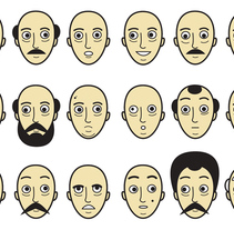 Caras. A Illustration project by Javier Arce - Nov 08 2009 12:27 PM
