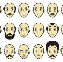 Caras. Un proyecto de Ilustración de Javier Arce - Domingo, 08 de noviembre de 2009 12:27:51 +0100