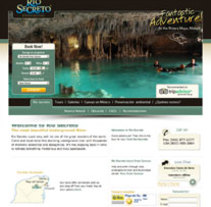 Río Secreto | Reserva Natural. A Design, Advertising, UI / UX&IT project by Manuel Canela - 12-11-2009