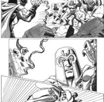 Xmen pagina 5. Un proyecto de Ilustración de Tomás Morón Aranda - Jueves, 12 de noviembre de 2009 15:54:50 +0100