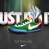Retro Nike. A Design&Illustration project by José Antonio  García Montes - Nov 13 2009 11:57 AM