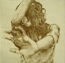 Self portrait in love. Un proyecto de Ilustración de Lucía Inthesky - 20-01-2010