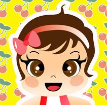 Ilustraciones personalizadas de bebes. Un proyecto de Ilustración de Arantxa González Rodríguez - 20-01-2010
