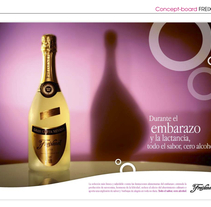 Freixenet 0°. A Advertising project by Fabio Bellucci         - 24.01.2010