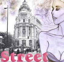 Street . A Illustration, and Photograph project by Pachi Santiago  - 25-01-2010