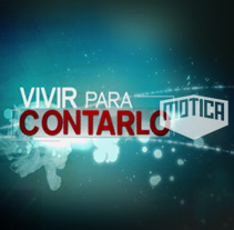 Vivir para Contarlo_Discovery Channel_2008. A Design, Motion Graphics, Film, Video, and TV project by Motion team - 02-02-2010