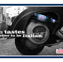 It tastes better to be italian. Un proyecto de Diseño, Ilustración y Fotografía de AndreaEmma - 10-02-2010