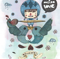 musina love. A Illustration project by Alejandro de Marcos García - Feb 16 2010 03:48 AM