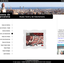 Web museos de Barcelona. A Design, Software Development&IT project by Kevin Kwik Johannesen - 16-02-2010