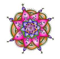 Mandala. Um projeto de Ilustração de Juanjo Barcenilla - 23-02-2010