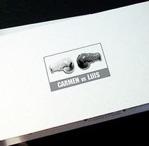 Carmen vs Luís. Un proyecto de Diseño, Ilustración, Fotografía y Publicidad de Gende Estudio - Miércoles, 10 de marzo de 2010 11:49:35 +0100