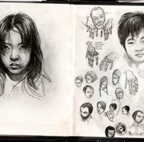 Bocetos. Un proyecto de Diseño e Ilustración de Ben Galvin         - 12.03.2010