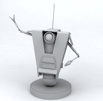 Claptrap (videojuego). A Design, Film, Video, TV, and 3D project by Santiago Perez Lamas - 04-05-2010