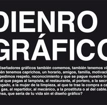 Dienro gráfico. A Design project by Renata Ortega Cirera         - 06.05.2010