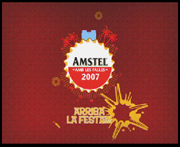 Amstel Fallas. A Motion Graphics, Film, Video, and TV project by Sergio Rodríguez - 10-05-2010