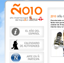 Año Internacional del Español. A Design project by Omar Benyakhlef Domínguez - 05.10.2010