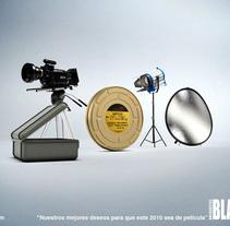 Tarjeta de fin de año de BlasterTV. A Design, Illustration, and 3D project by Rob Diaz         - 14.05.2010