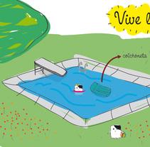 Vive l'eté!. A Illustration project by Renata Ortega Cirera         - 18.05.2010
