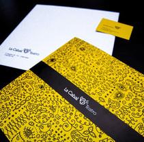 La Cabal Teatro. Un proyecto de Diseño, Ilustración y Publicidad de Refres-co  - Jueves, 20 de mayo de 2010 12:46:22 +0200