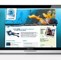 CIPS Diving Center. Un proyecto de Diseño de laKarulina  - Jueves, 01 de julio de 2010 14:41:07 +0200