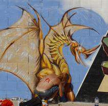 Urban paint. Un proyecto de Diseño, Ilustración e Instalaciones de Sandra Maya  - 09-07-2010