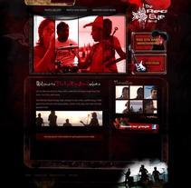 Sitio Red Eye band . Un proyecto de Diseño y UI / UX de Leydi Alejandra Marí Rivero         - 14.07.2010