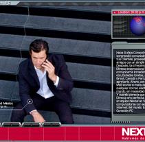 INTERACTIVO NEXTEL. Un proyecto de Diseño, Publicidad, Música, Audio, Motion Graphics, Desarrollo de software, Cine, vídeo, televisión e Informática de David Gomez Escamilla         - 09.08.2010