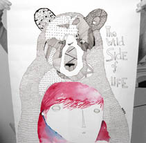Wild Life. A Illustration project by amaia arrazola - Sep 07 2010 01:32 PM