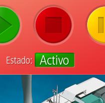 Acciona SCADA. A Design, and UI / UX project by Raul Varela - Oct 05 2010 01:43 AM