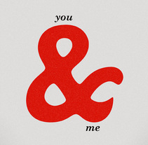 Ampersand. A Design&Illustration project by Sara Olmos - 06-10-2010