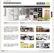 Web Kebek mobiliari. A Design, and Software Development project by DaNieL PaRDo - Oct 15 2010 12:33 PM