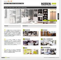 Web Kebek mobiliari. Un proyecto de Diseño y Desarrollo de software de DaNieL PaRDo - Viernes, 15 de octubre de 2010 12:33:39 +0200